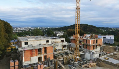 Baufortschritt Pöstlingbergpark Hohe Straße Linz