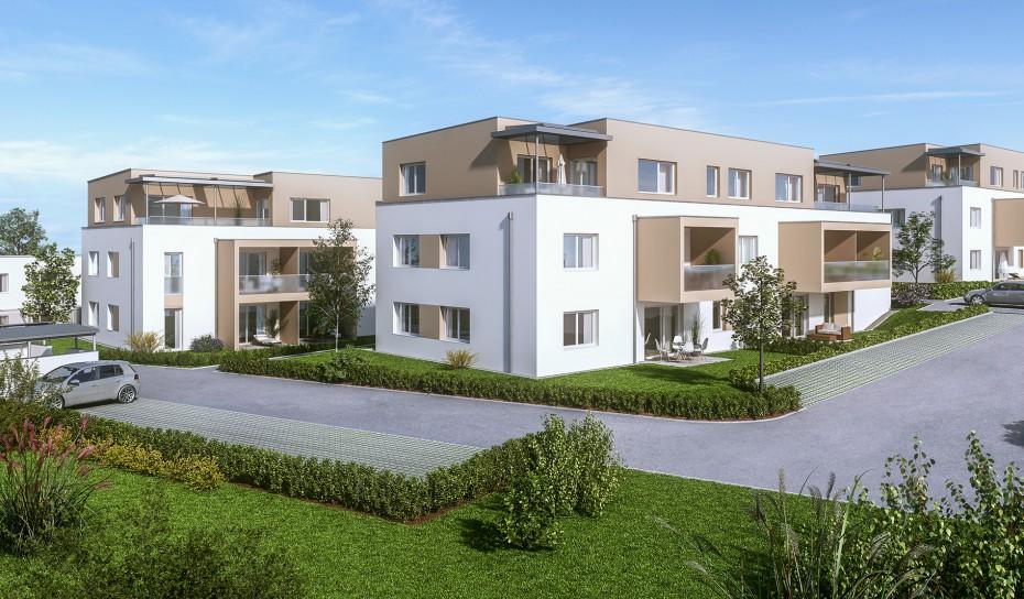 Wohnungen in Haag am Hausruck_Wohnanlage_architekturbüro Klinglmüller