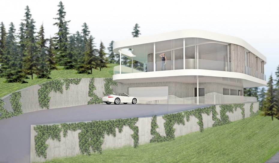 Einfamilienhaus Pöstlingberg Architekt Klinglmüller