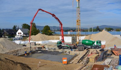 Baubeginn Wohnanlage Fasanweg Pichling