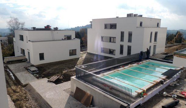 Pool Wohnanlage Pöstlingbergpark