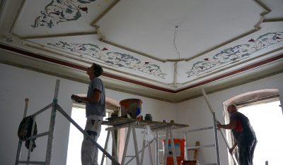 Decken Wiederherstellung Palais Löwenfeld