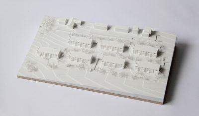 Modell Wohnanlage Steinhaus bei Wels