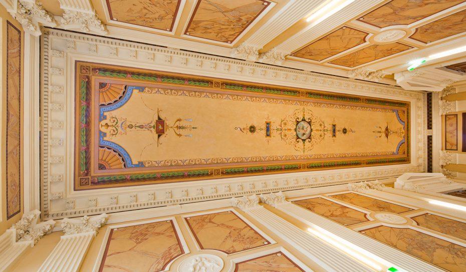 Palais Löwenfeld - Deckenmalerei