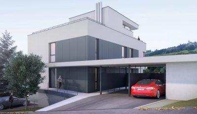 Perspektive Mehrfamilienhaus M