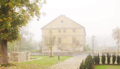 Meierhof Palais Löwenfeld bei Nebel